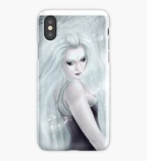 Winter Soul - Gothic Winter Goddess iPhone Case
