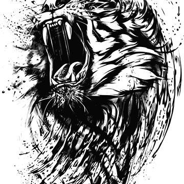Loud Lion by FringeInk