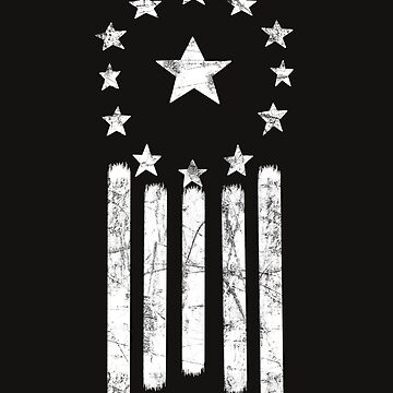 Old World American Flag [WHITE] by Styl0