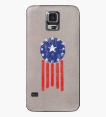 Old World American Flag Case/Skin for Samsung Galaxy