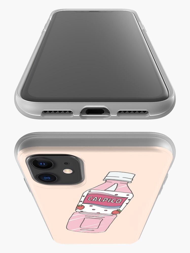 Coque iPhone ''Calpis Fraise CALPICO': autre vue