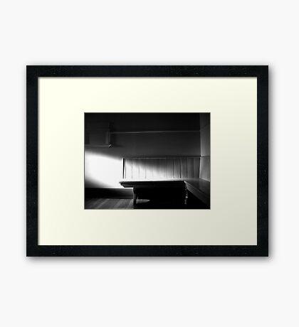 The Waiting Room Framed Print