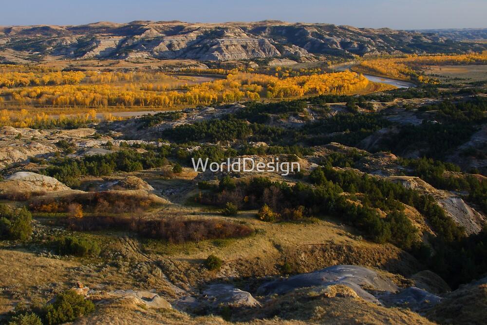 North Dakota Landscape by WorldDesign