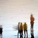 On the Beach by Kitsmumma