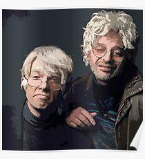 Gil Faizon und George St. Geegland Poster
