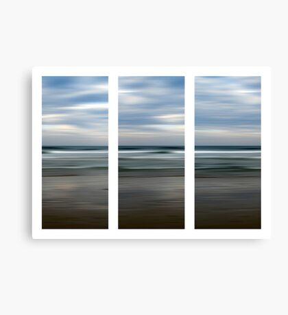 Rainbow Beach at Dusk Canvas Print
