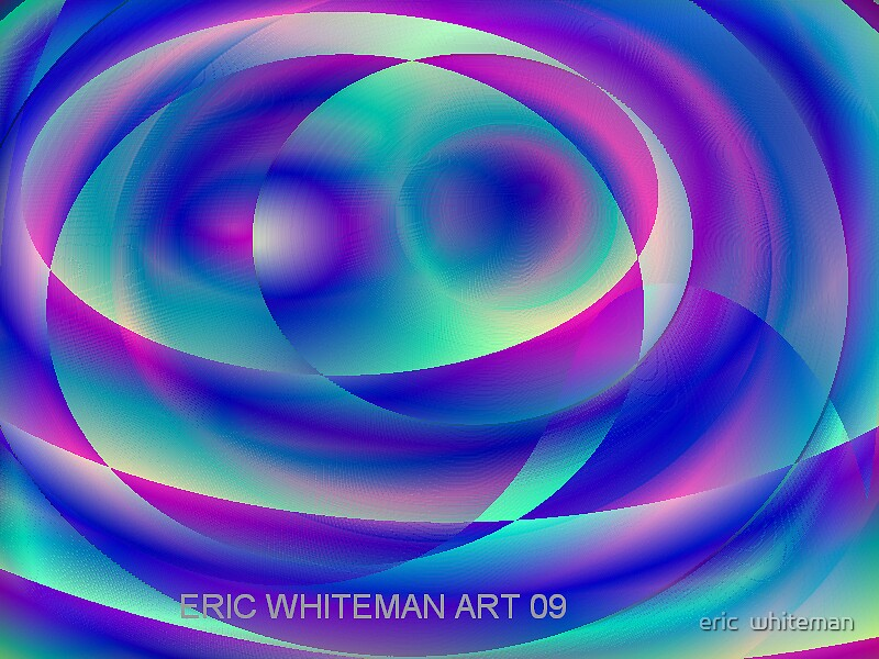 ( FLUSTER ) ERIC WHITEMAN  ART  by eric  whiteman
