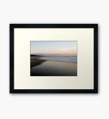 Beach Impressions - North Framed Print