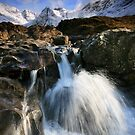 The Fairy Pools of Skye by Angie Latham
