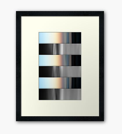 Opposites  Framed Print