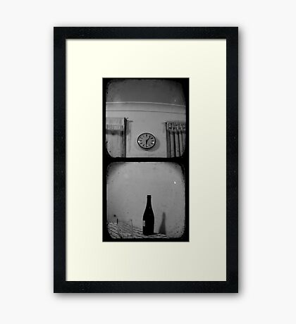 Happy Hour - TTV Diptych Framed Print