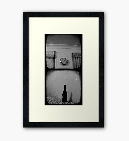 Happy Hour - TTV Diptych Framed Print