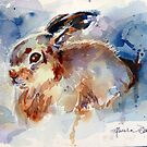 The Snow Hare by twopoots