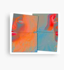 Back to Front and Inside Out Canvas Print