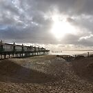 Pier in winter, St Anne`s-on-the-sea, Lancashire by shakey