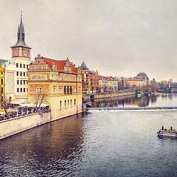 River Vltava by Lanas