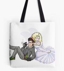 Christmas Past and Present Tote Bag