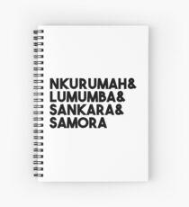 Samora Machel Spiral Notebook