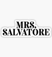 Mrs Salvatore | TV Meme Movie Sticker