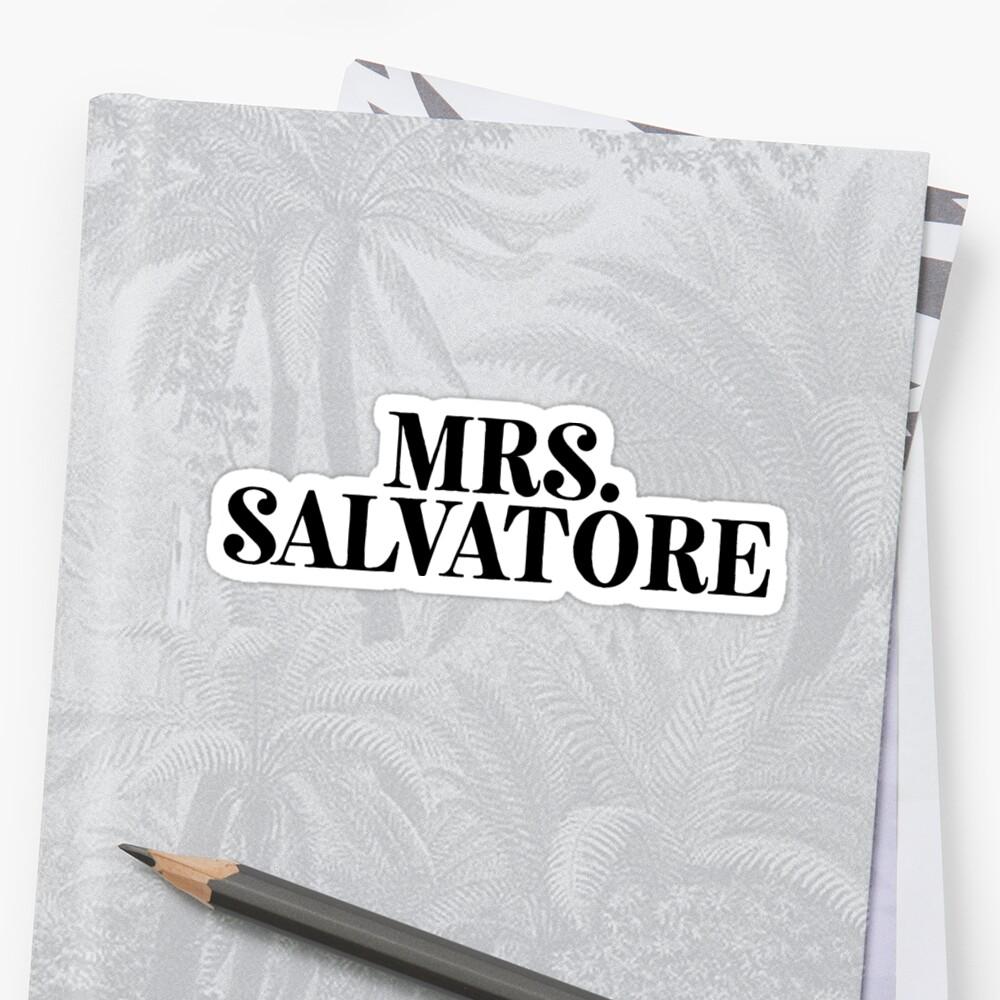 Mrs Salvatore | TV Meme Movie by RoadRescuer