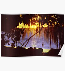 Torquay to Point Vernon sunset Hervey Bay Poster