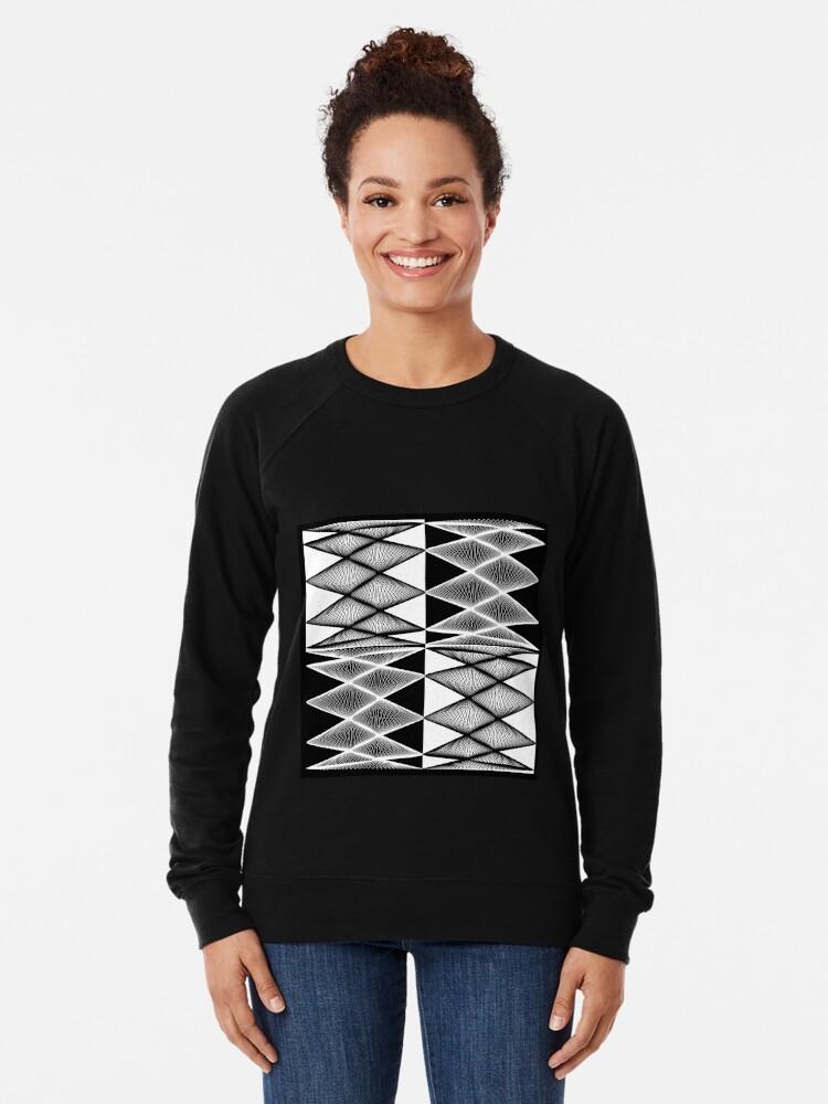 Alternate view of Lissajous XXI Lightweight Sweatshirt