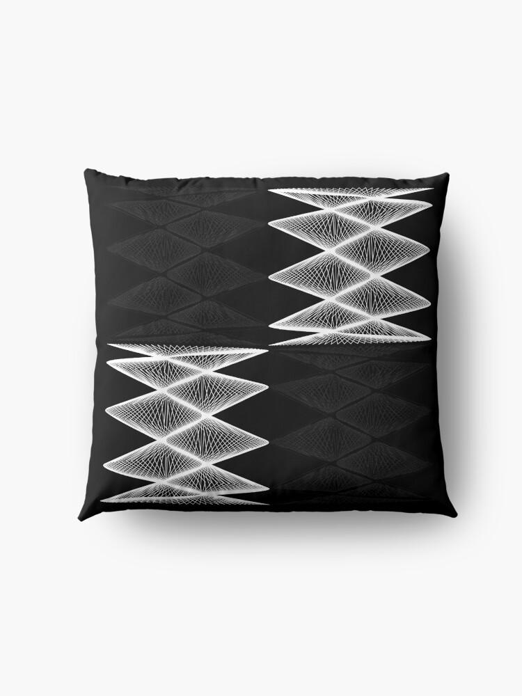 Alternate view of Lissajous XXI Floor Pillow