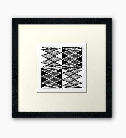 Lissajous XXI Framed Print
