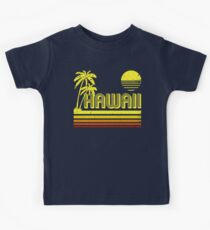 Vintage Hawaii (distressed look) Kids Tee