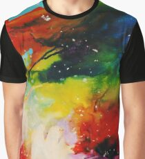 Expressive Souls Through the Chaos Graphic T-Shirt