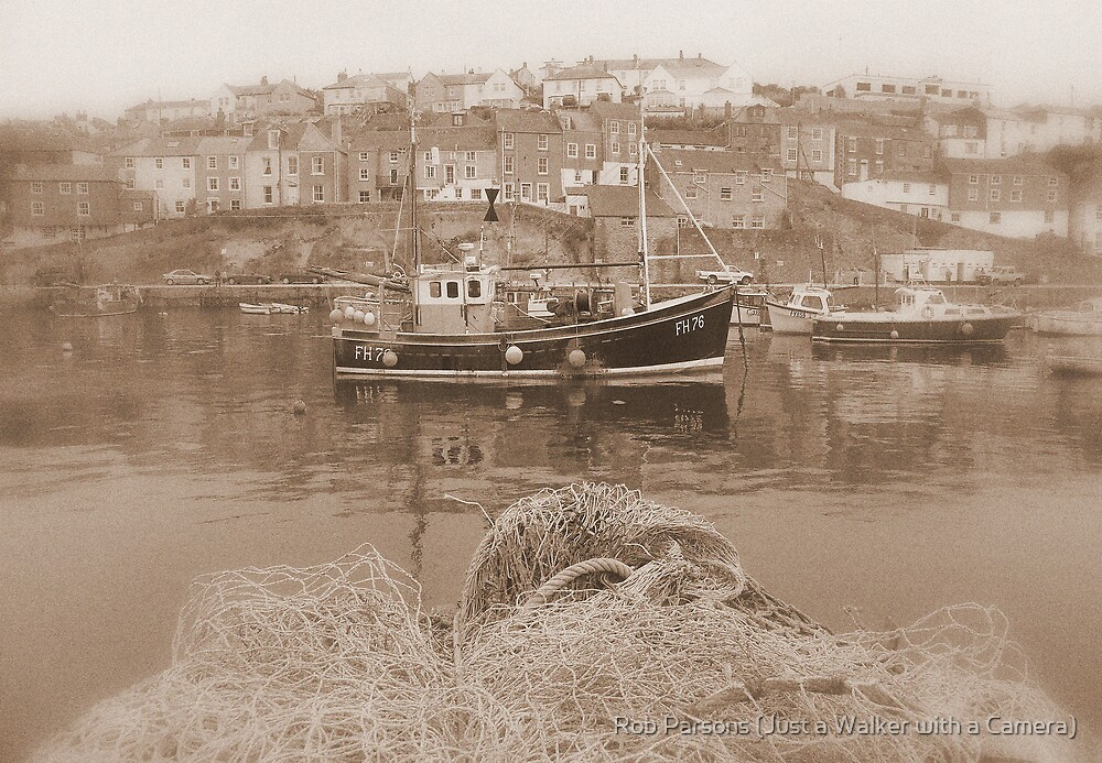 Cornwall: A Postcard from Mevagissey by Rob Parsons (AKA Just a Walker with a Camera)