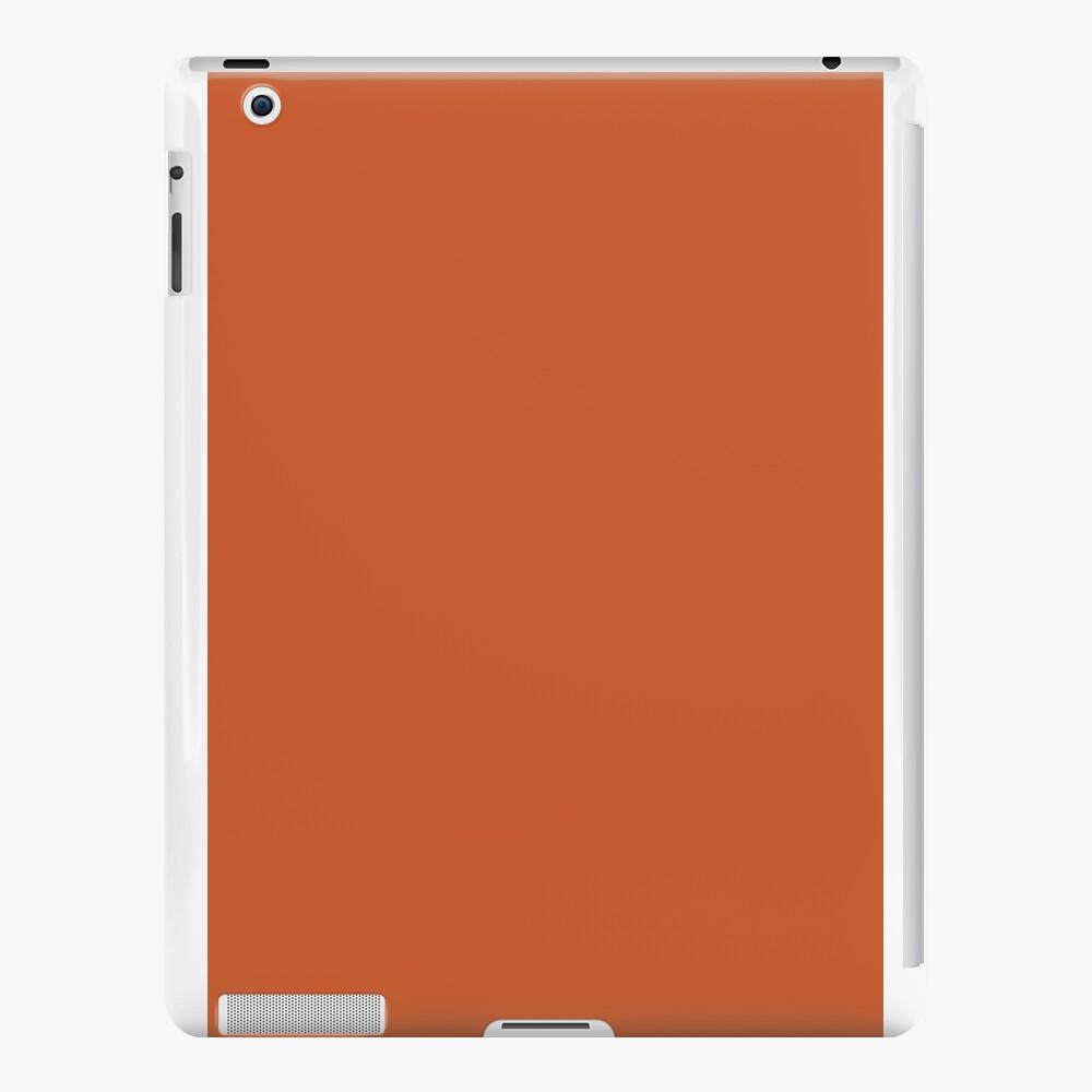 Gebrannte Orange iPad-Hüllen & Klebefolien