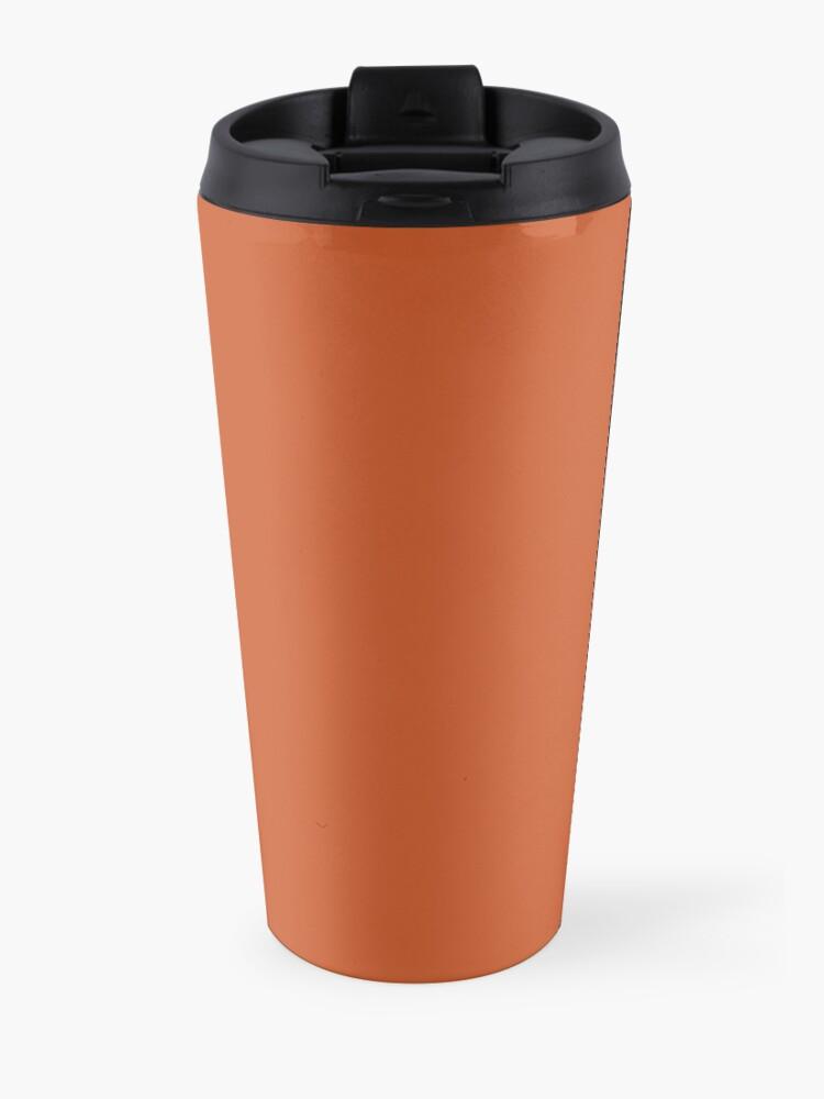 Alternative Ansicht von Gebrannte Orange Thermobecher