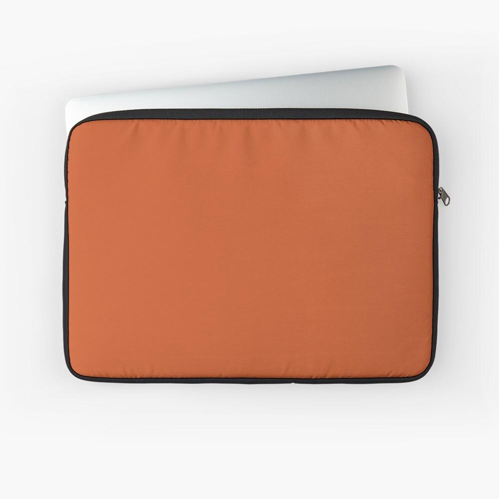 Gebrannte Orange Laptoptasche