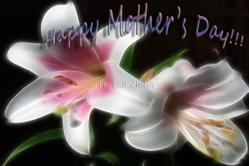 Mother's Day Card by Teresa Zieba