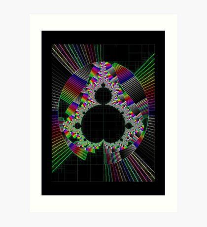Mandelbrot series X Art Print