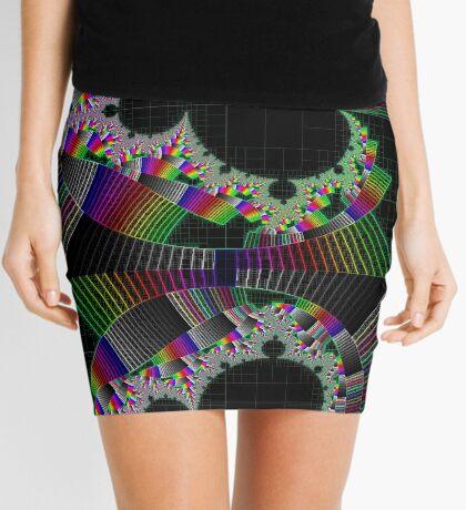 Mandelbrot series X Mini Skirt