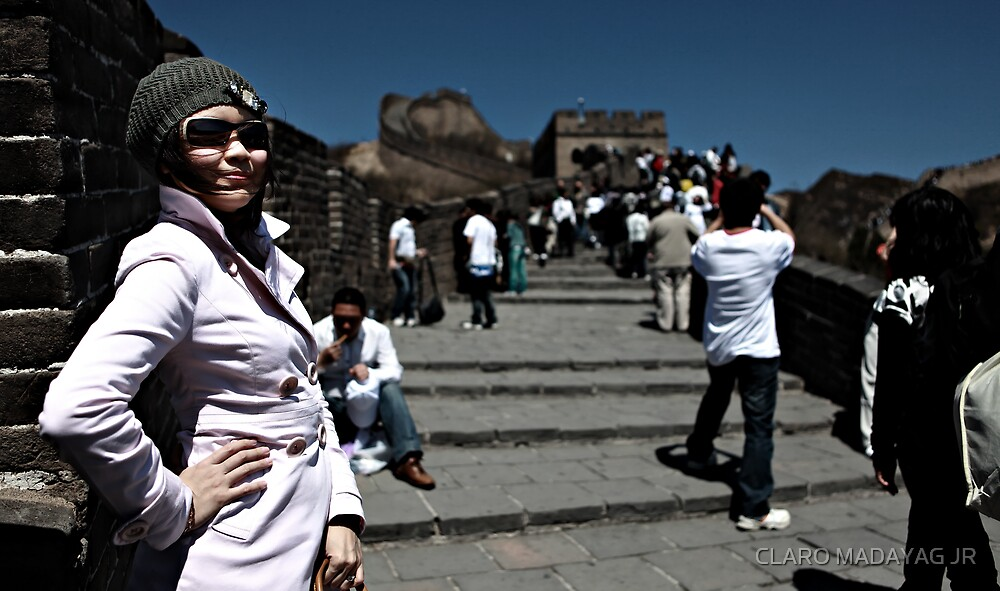 Strobing at the The Great Wall by CLARO MADAYAG JR