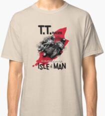 Isle Of Man TT Races Mororcycle Motorbike Designs by MotorManiac Classic T-Shirt
