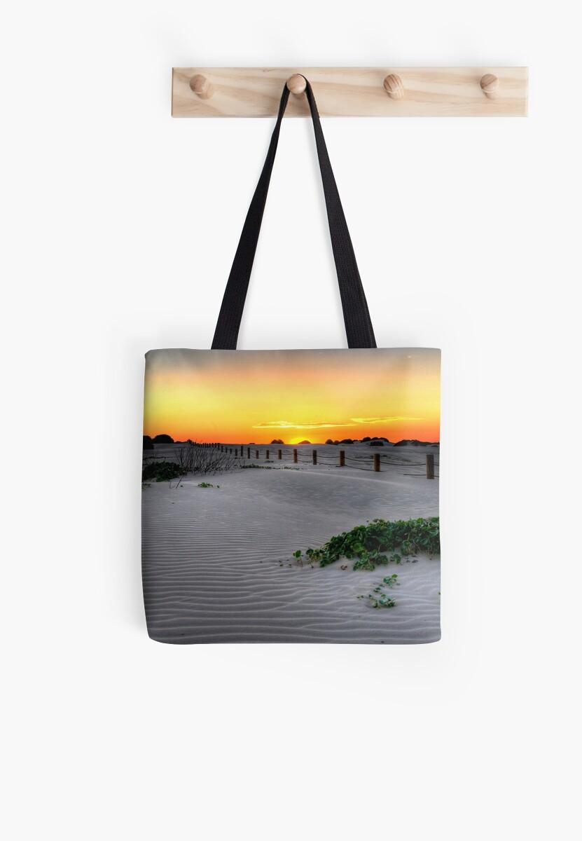 Dusk over Birubi Beach Sand Dunes by Mike Salway