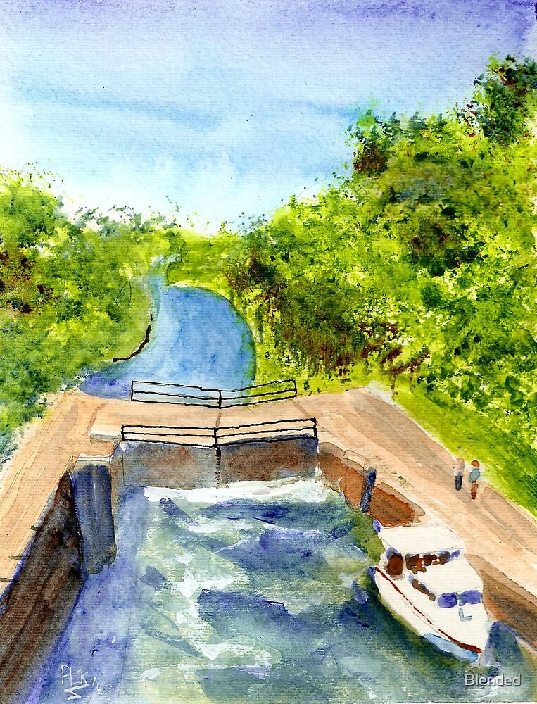 Rideau Canal Locks in Kingston by Blended