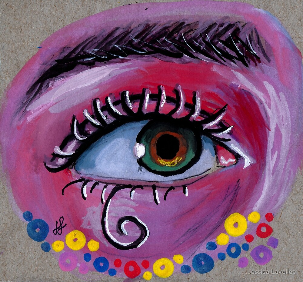 """""""eye of the Possum"""" by Jessica Lavallee"""