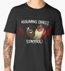 Lelouch using his Geass (Assuming Direct Control) Men's Premium T-Shirt