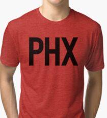 PHX Phoenix Sky Harbor | Travel World Wanderlust Tri-blend T-Shirt