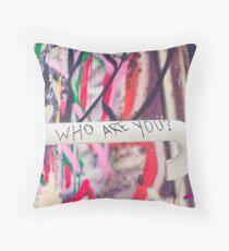 SYDNEY GRAFFITI 36 Throw Pillow