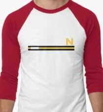 Nikonian Men's Baseball ¾ T-Shirt