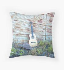 """""""My Guitar & Hat...... Throw Pillow"""