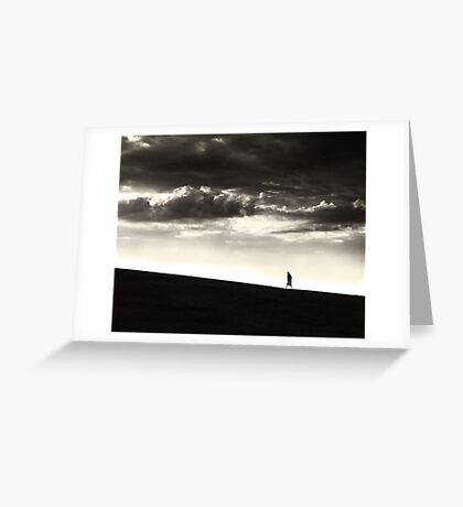 Between Living and Dying Greeting Card