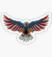 American Bald Eagle Sticker
