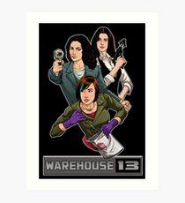 Warehouse 13 girls Art Print